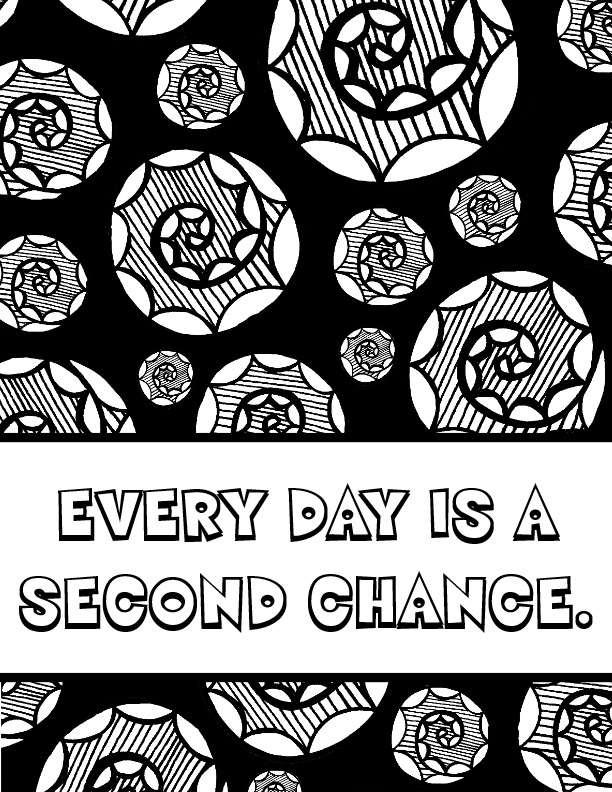 Free Motivational Coloring Pages